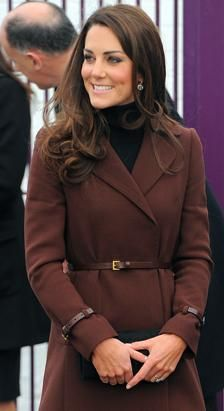 Kate Middleton, The Duchess of Cambridge, spent Valentine's day alone touring charities in Liverpool, while William was deployed in the Falkland Islands. Her first stop was at the Brink, an alcohol-free bar for recovering addicts. (Andrew Yates/AFP/Getty Images)