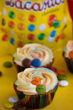 Cupcakes de Lacasitos o M