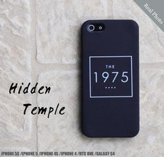 The 1975 Band iPhone Case Cover  iPhone 5s Case  by HiddenTemple, $19.99