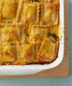 Get your taste buds ready for fall with this Pumpkin Lasagna recipe from RealSimple! #fall #pumpkin #yummy