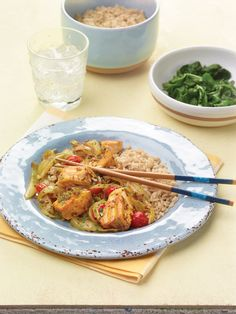 """Indian Salmon Stir Fry from the NEW """"The Perfect Diabetes Comfort Food Collection,"""" by Robyn Webb"""