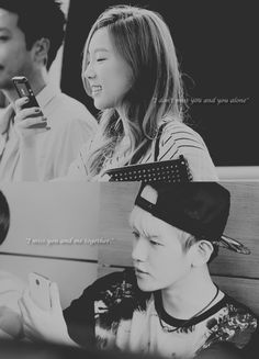 Baekyeon ❤ ©...So happy for both of them...I hope they can overcome this hard time with all the hatecoments...Love is something to be happy about! Fighting!
