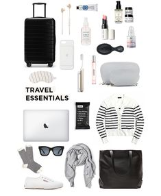 Travel essentials for a long flight – danielle moss travel items, travel luggage, travel Travel Checklist, Packing Tips For Travel, New Travel, Travel Style, Packing Lists, Travel Plane, Travel Europe, Airplane Travel, Summer Travel