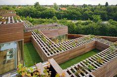 Mountain Dwellings, Orestad, a new urban development in Copenhagen, Denmark - by BIG