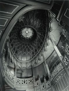 """Clarence John Laughlin's """"The Improbable Dome"""" (1964),"""