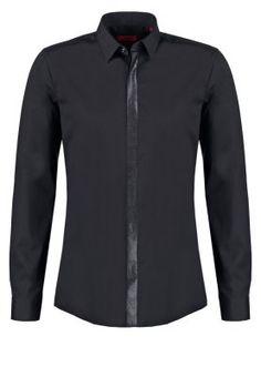 ENDRIOS SLIM FIT - Koszula biznesowa - black