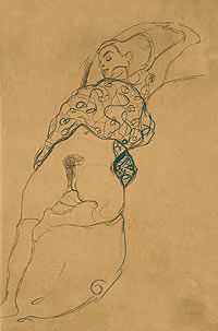 gustav klimt drawings - Google Search