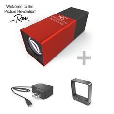 First Generation Lytro Camera Special Edition Signature Camera, Tripod Mount and Fast Charger  Get a Special Edition Red Hot camera engraved with Lytro founder Ren Ng's signature. 16GB 750 Pictures  $249.00