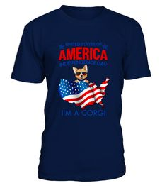 AMERICA INDEPENDENCE DAY CORGI2  Independence Day T-shirts