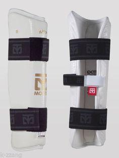 MOOTO Korea TAEKWONDO TKD SHIN protector guard gear WTF Gym MMA black white