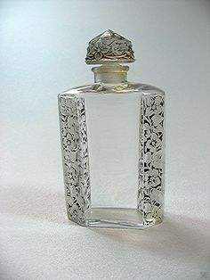 "Dollhouse Miniature Glass Bottle of  /"" French Cologne /"""