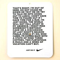 Nike love