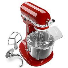 New KitchenAid HEAVY DUTY pro 500 Stand Mixer Lift ksm500psqer AllMetal 5-qt Red