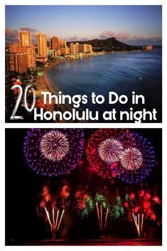 Hawaii is definitely known as a tourist destination around the world. Discover the top things to do in Honolulu at night and explore the best Honolulu Hawaii, Hawaii Honeymoon, Hawaii Vacation, Vacation Spots, Vacation Ideas, Hawaii Travel Guide, Travel Tips, Stuff To Do, Sagrada Familia