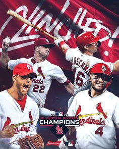 into October. For the time since 2015 the are NL Central champs! into October. For the time since 2015 the are NL Central champs! Cardinals Players, Cardinals Baseball, St Louis Cardinals, Division, St Louis Baseball, American Sports, Baseball Season, Ml B, National League