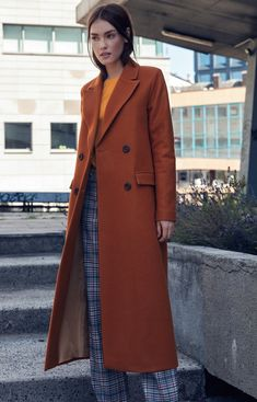 Nife Długi ciepły płaszcz Nife pl06 Duster Coat, Jackets, Fashion, Down Jackets, Moda, Fashion Styles, Jacket, Fashion Illustrations, Suit Jackets