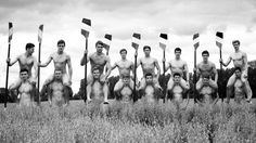 FOR THE UNFAMILIAR: These are the Warwick Rowers, a rowing club at Warwick University in the UK with a beautiful habit of taking off their clothes every year for the wonderful spectacle known as the Naked Rowers calendar. | British Rowing Team Blesses The World Again By Stripping Down To Fight Homophobia