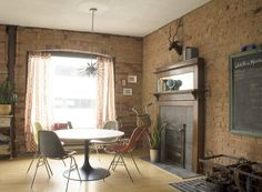 Justyn & Kate's Brick Mid-Century — Small Cool Contest   Apartment Therapy