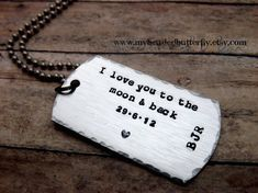 Hey, I found this really awesome Etsy listing at http://www.etsy.com/listing/119815077/dog-tag-necklace-aluminum-unisex-i-love