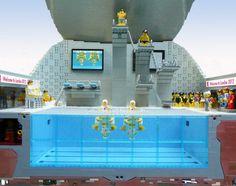 LEGO 2012 London Olympics Aquatic Center