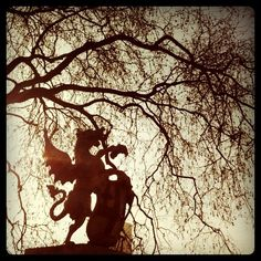 Griffin on the edge of the old City of London