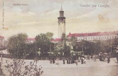 Giurgiu - antebelica Old Images, Vintage Images, Paris Skyline, City, Painting, Vintage Pictures, Painting Art, Cities, Paintings
