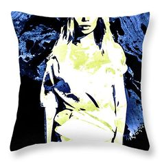 Throw Pillow with Beyonce #Beyonce #celebrity #pillow #art #popart #fineart #celebs