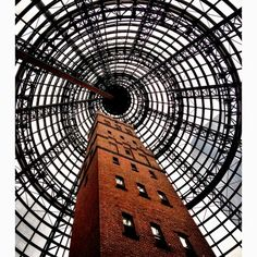 Melbourne Central Station -This shot tower was preserved and and the station skylights were built around it. The station is as much mall and museum as train station. There are floor of shops and restaurants, a museum, and a full grocery store that I often stop at on the way home at night.