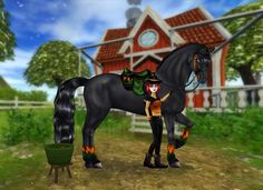 Tremblingly terrifying treats to be found in the Apple Bobbing contest! Star Stable Horses, Horse Animation, Horse Games, Horse Wallpaper, Horse Videos, Animal Jam, Love Stars, Stables, Friends In Love