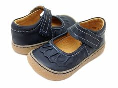 Livie & Luca Ruche Vintage Navy Shoes