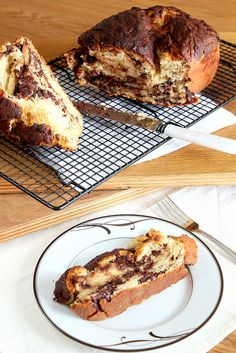 yeasted chocolate coffee cake • the pastry affair  @smseward, I will try this one day!