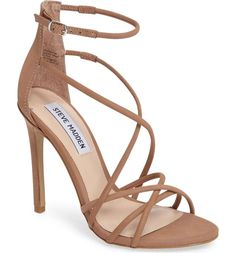 Shop the latest women's nude sandals, slingback heels and strappy sandals in neutral shades of beige, pink and brown perfectly matching your skin tone. Fancy Shoes, Pretty Shoes, Beautiful Shoes, Cute Shoes, Zapatos Shoes, Shoes Heels, Flats, Strappy Sandals Heels, Nude Sandals