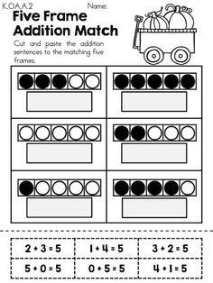 Autumn Kindergarten Math Worksheets   Kindergarten math worksheets ...