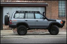 The roofrac is a modular, adjustable, and completely bolt together roof rack for 80 series Land Cruisers. The rack consists of 2 full length laser cut side rails constructed of Land Cruiser Fj80, Toyota Land Cruiser, Chevrolet Tahoe, Chevrolet Silverado, Landcruiser 80 Series, Lexus Lx450, Diesel, Best Muscle Cars, Toyota Hilux