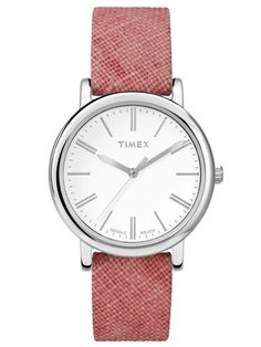 Ever since our watches moved from the pocket to the wrist, Timex defined how the world told time. By the end of the every third watch sold was a Timex. Inspired by iconic Timex styles, . Sport Watches, Watches For Men, Ladies Watches, Timex Indiglo, Small Casual, Timex Watches, Pink Fabric, Gold Watch, Bracelet Watch