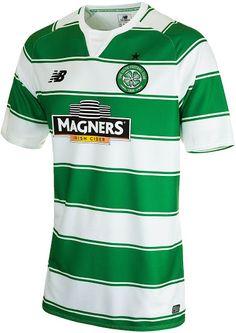 New Balance Celtic 15-16 Home Kit Released - Footy Headlines