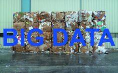 carton d'invitation à l'exposition Big Data de Nikolas Fouré, galerie des petits carreaux, Paris