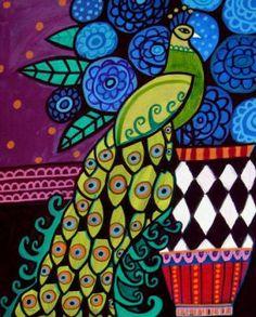...peacock art