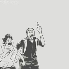 tanaka and nishinoya friendship goals - Buscar con Google