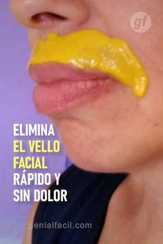 Remove Unwanted Facial Hair, Unwanted Hair, Beauty Skin, Hair Beauty, Facial Tips, Tips Belleza, Face Hair, Skin Firming, Diy Hairstyles