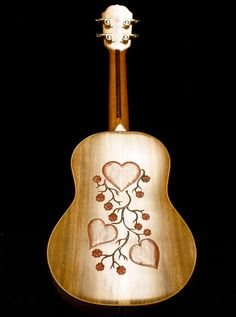 "Blueberry ""Love"" Ukulele"