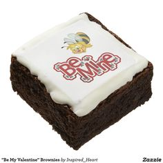 Fabulous at black red Square Brownies - red gifts color style cyo diy personalize unique Chocolate Humor, Chocolate Brownies, Chocolate Flavors, Chocolate Gifts, White Chocolate, Fudge Brownies, 3d Christmas, Christmas Chocolate, Halloween Chocolate