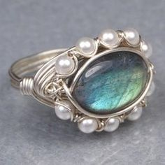 Making Wire Wrapped Rings | Wire wrapped rings