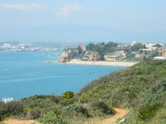 Looking at the other side of Ferragudo (Praia Grande, f: Celebrate Algarve)