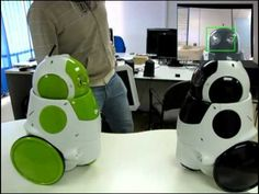 Robots Interacting