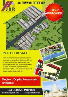 Plot in Bhopal, Construction Company in Bhopal, JBR Group Provide best & Cheapest plot in Bhopal at the premium Location Of the city. Home Decor Baskets, Baskets On Wall, La Colonisation, Bathroom Vinyl, Plots For Sale, Cheap Houses, How To Clean Furniture, Garage House, Real Estate Development