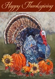Happy Thanksgiving Turkey - Decorative Flag - Garden Size 12 Inch X 18 Inch by Belle Rose Collection. $12.79. Exceptional Quality. 12 Inch X 18 Inch Garden Size Flag. Mildew Resistant. Bold Colors and Sharp Detail. Durable Poly-Nylon Blend. This beautiful flag will give you years of enjoyment. High Quality poly blend denier is fade and mildew resistant.. Save 36%!