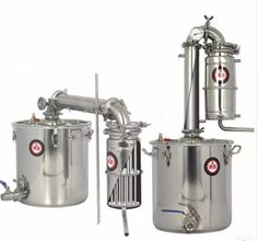 25L Home Stainless Steel Alcohol Distiller Wine Brewing Device Spirits(Alcohol) Distillation Boiler