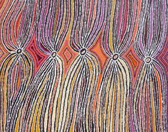 """Snake Vine Dreaming"" by Liddy Napanangka Walker (2007)"