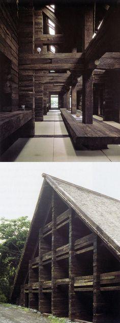 Susumu Takasuga - Seitogakusha schoolhouse, likely mid 1970's. Via the always inspiring Paradise Backyard.